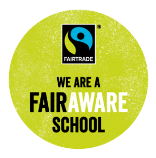 We are a FairAware School Icon